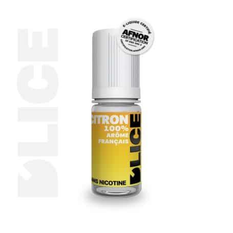 Eliquide Citron D'lice